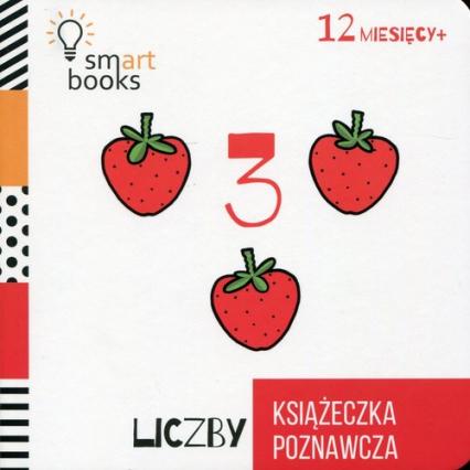 Liczby Książeczka poznawcza Wiek 12m+ -  | okładka