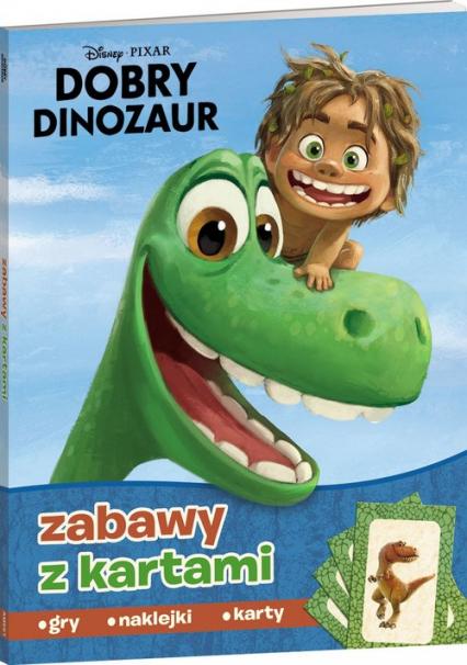 Dobry dinozaur Zadania z kartami -    okładka