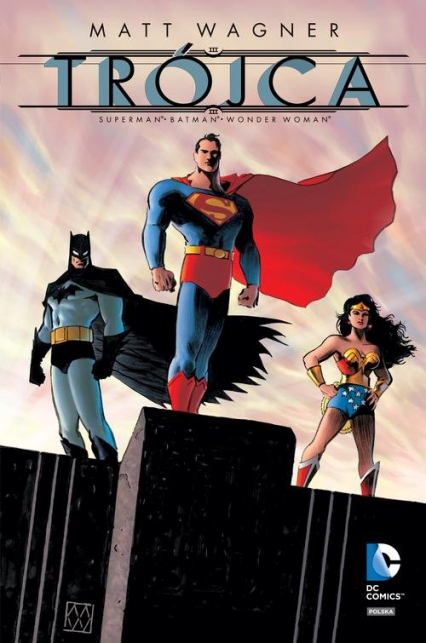 Trójca Batman Superman Wonder Woman - Matt Wagner   okładka