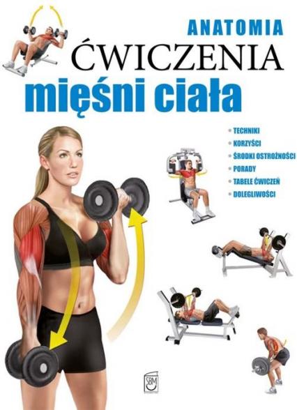 Anatomia Ćwiczenia mięśni ciała - Ricardo Canovas   okładka