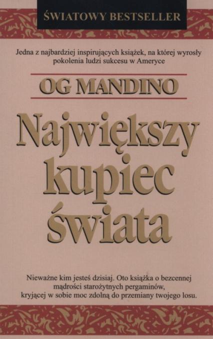 Największy kupiec świata - Og Mandino | okładka