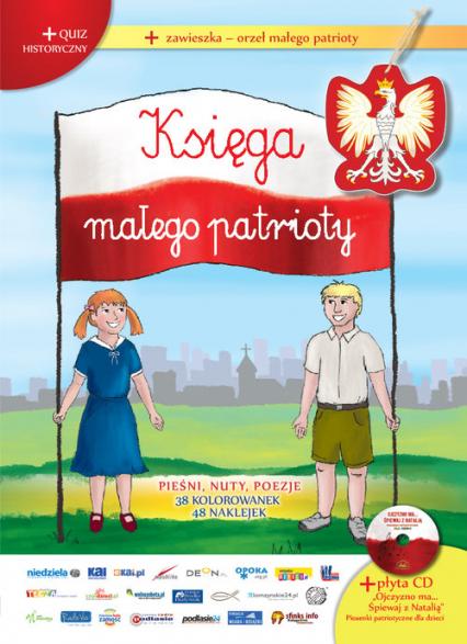 Księga małego patrioty + CD - zbiorowa Praca | okładka
