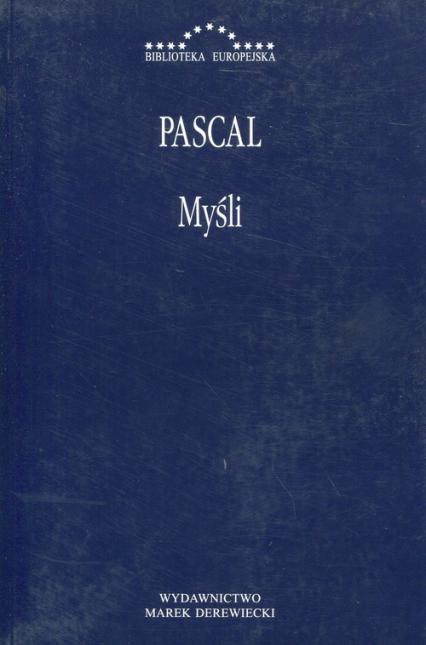 Myśli - Blaise Pascal | okładka