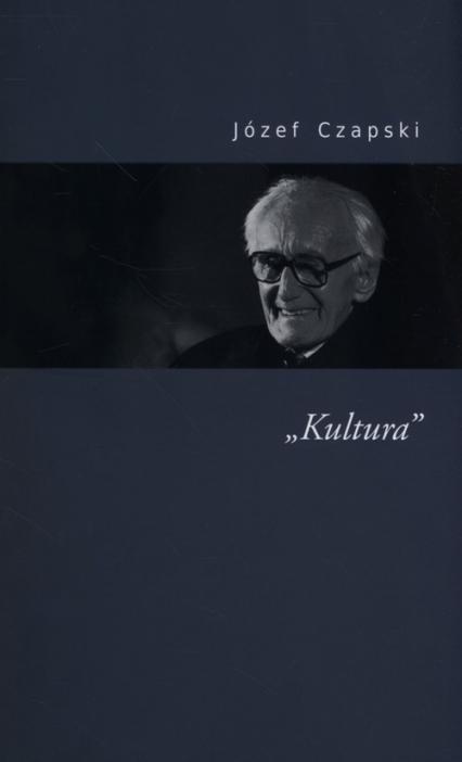 Kultura - Józef Czapski | okładka