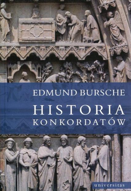 Historia konkordatów - Edmund Bursche | okładka
