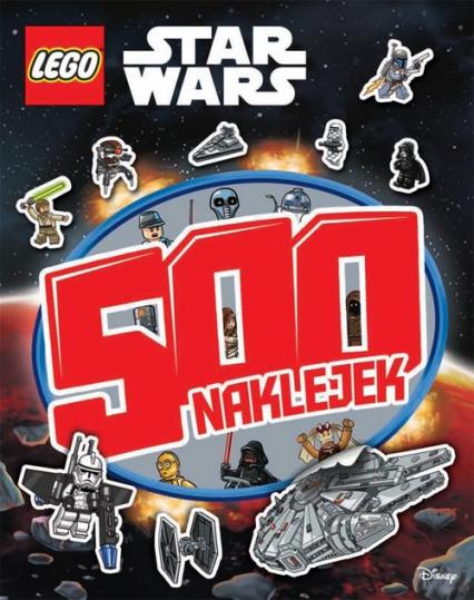 Lego Star Wars 500 naklejek -  | okładka
