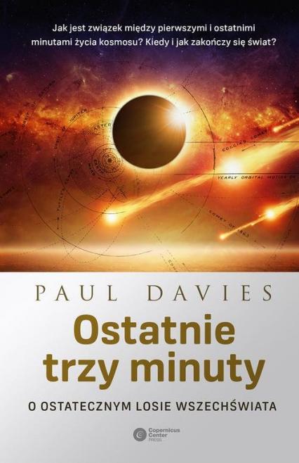 Ostatnie trzy minuty - Paul Davies | okładka