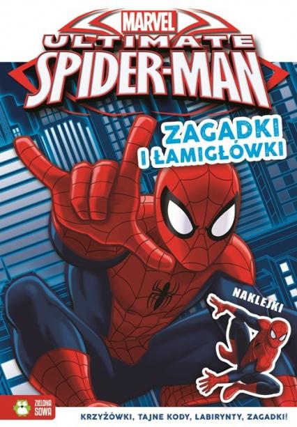 Zagadki i łamigłówki Marvel Ultimate Spider-Man -  | okładka