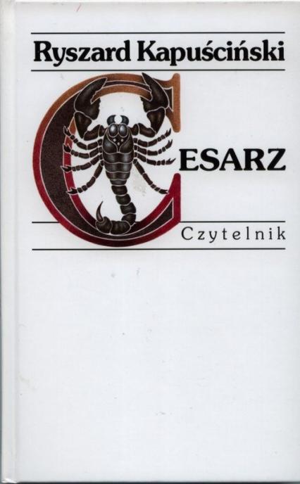 Cesarz - Ryszard Kapuściński | okładka