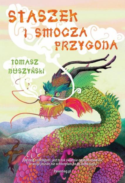 Staszek i smocza przygoda - Tomasz Duszyński   okładka