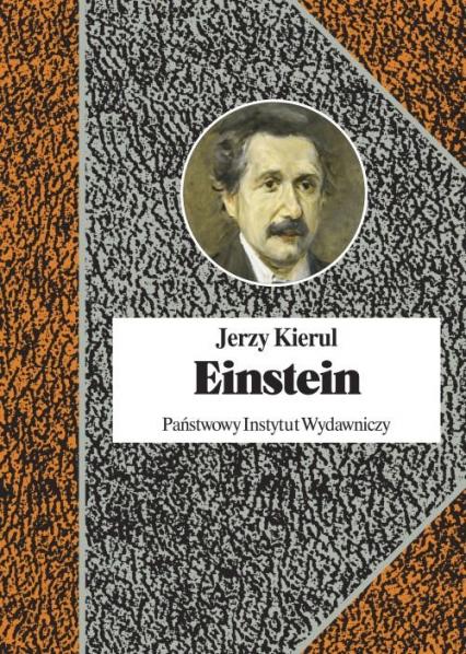 Einstein - Jerzy Kierul   okładka