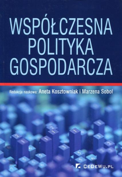 Współczesna polityka gospodarcza -  | okładka