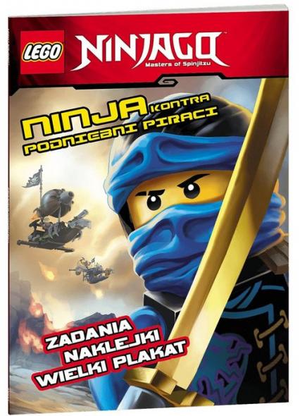 Lego Ninjago Ninja kontra podniebni piraci -  | okładka