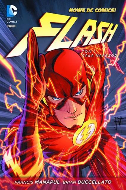 Flash Tom 1 Cała naprzód - Manapul Francis | okładka