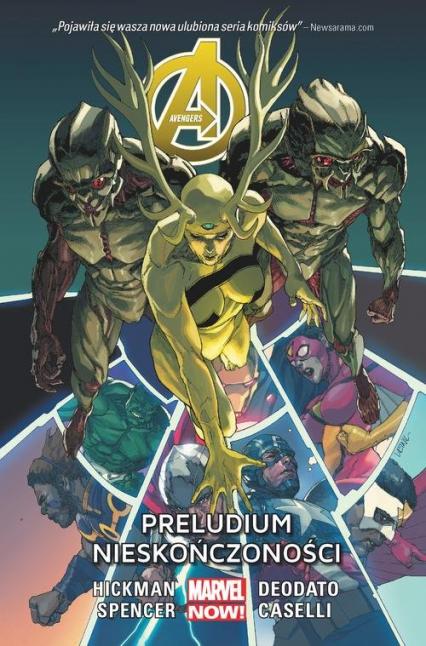 Avengers Preludium nieskończoności Tom 3 - Jonathan Hickman   okładka