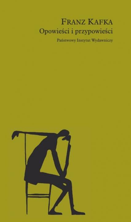 Opowieści i przypowieści - Franz Kafka | okładka