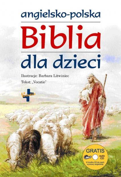 Angielsko-Polska biblia dla dzieci -    okładka