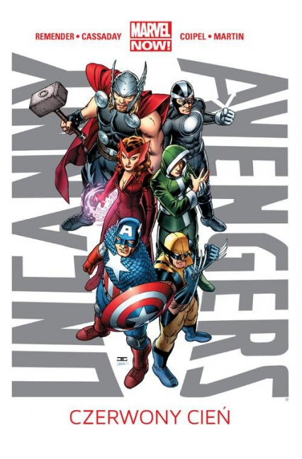 Uncanny Avengers Tom 1 Czerwony cień - Rick Remender | okładka