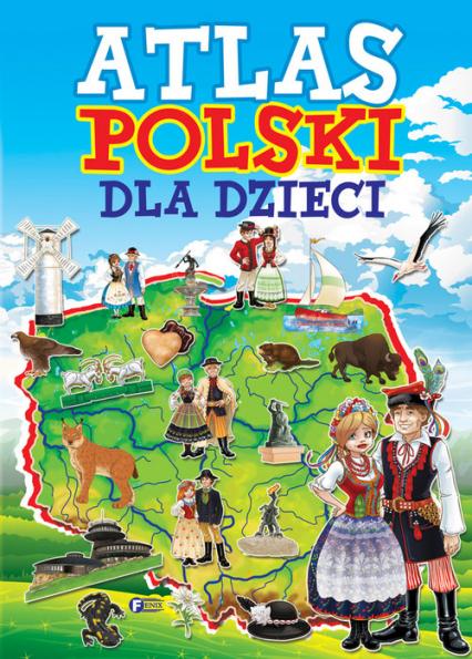 Atlas Polski dla dzieci -  | okładka