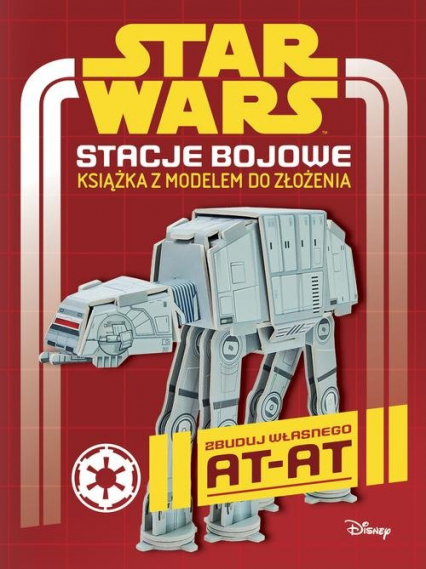 Star Wars Stacje bojowe Książka z modelem do złożenia - Craig Jelley | okładka