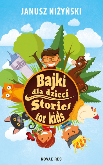 Bajki dla dzieci Stories for kids - Janusz Niżyński | okładka