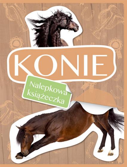 Konie Nalepkowa książeczka -    okładka