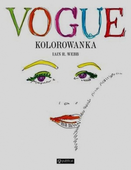 Vogue kolorowanka - Webb Iain R. | okładka
