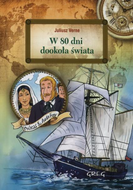 W 80 dni dookoła świata - Jules Verne | okładka