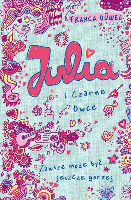 Julia i Czarne Owce - Franca Duvel | okładka
