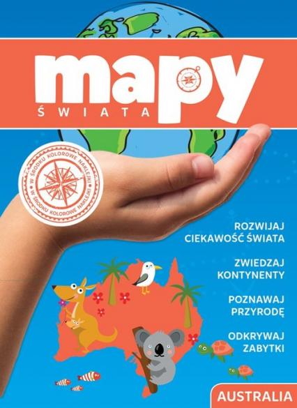 Mapy świata Australia -  | okładka