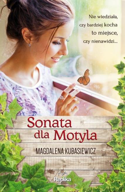 Sonata dla Motyla - Magdalena Kubasiewicz | okładka