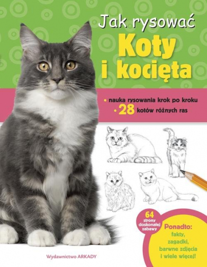 Jak rysować Koty i kocięta - Robbin Cuddy | okładka
