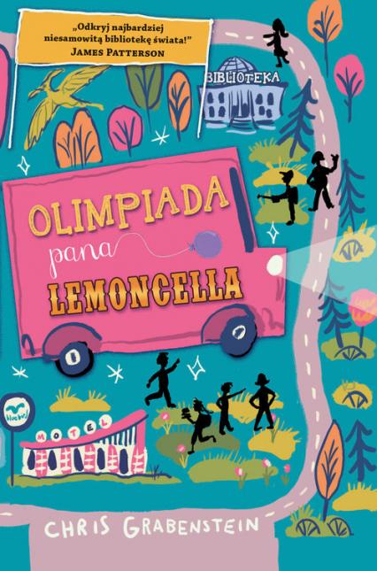 Olimpiada pana Lemoncella - Chris Grabenstein | okładka