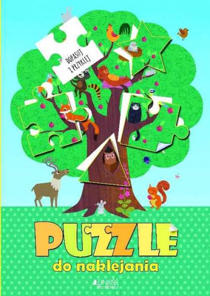 Puzzle do naklejania Dopasuj i przyklej - Jonny Marx | okładka