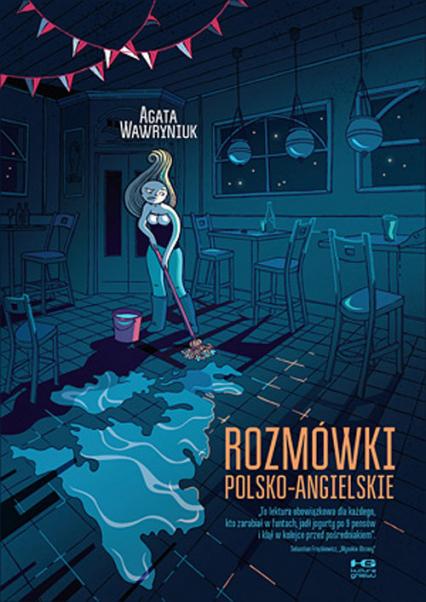 Rozmówki polsko-angielskie - Agata Wawryniuk   okładka
