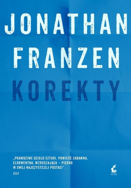 Korekty - Jonathan Franzen | okładka