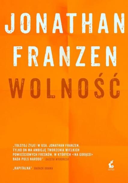 Wolność - Jonathan Franzen | okładka