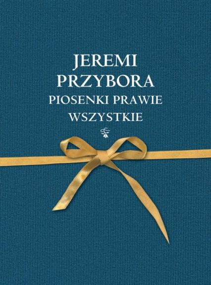 Piosenki prawie wszystkie - Jeremi Przybora | okładka