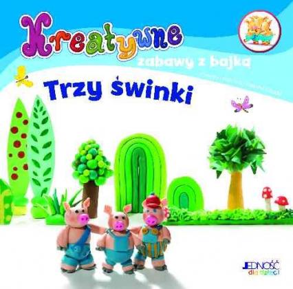 Kreatywne zabawy z bajką Trzy świnki Zestaw do zabawy plasteliną