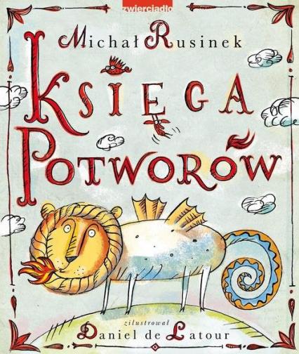 Księga Potworów - Michał Rusinek   okładka