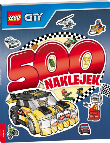 Lego City 500 naklejek -  | okładka