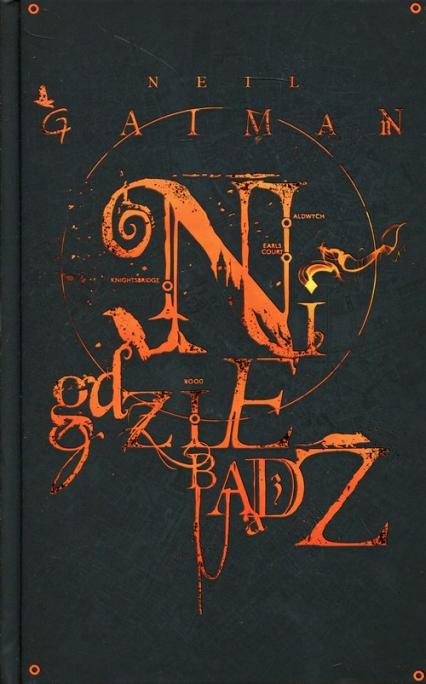Nigdziebądź - Neil Gaiman | okładka