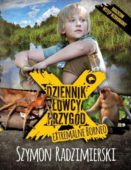 Dziennik łowcy przygód - Szymon Radzimierski | okładka