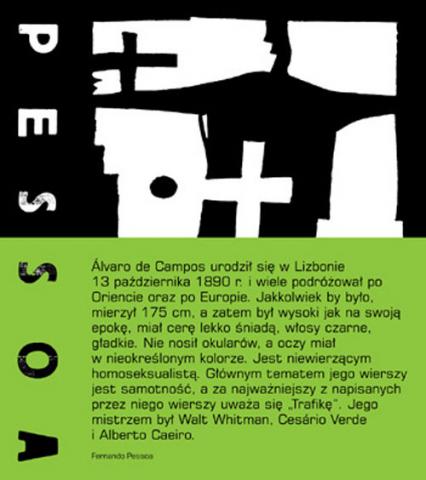 Poezje zebrane Alvaro de Campos - Fernando Pessoa | okładka