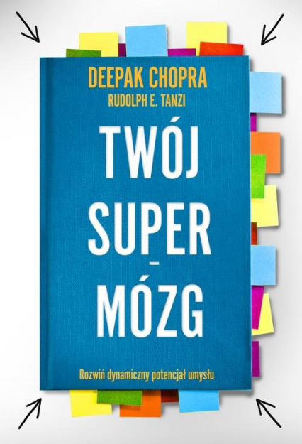 Twój Supermózg - Deepak Chopra | okładka