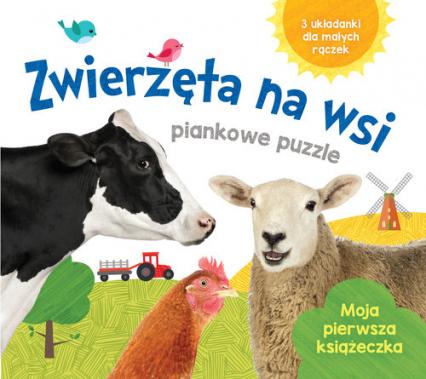 Zwierzęta na wsi Piankowe puzzle -    okładka