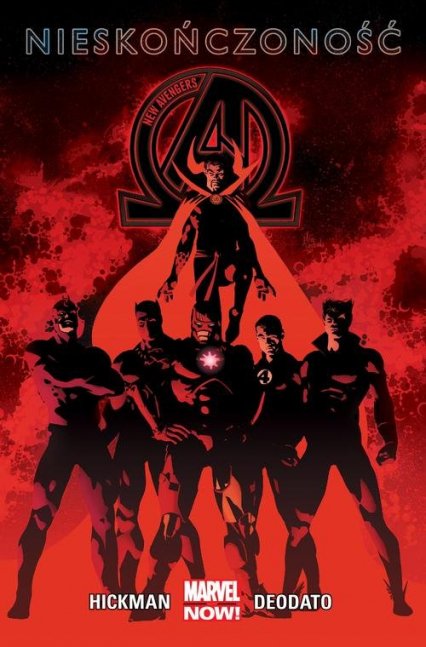 New Avengers Nieskończoność Tom 2 - Jonathan Hickman | okładka