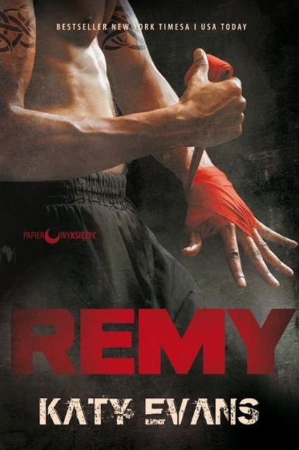REMY Seria REAL Tom 3 - Katy Evans | okładka