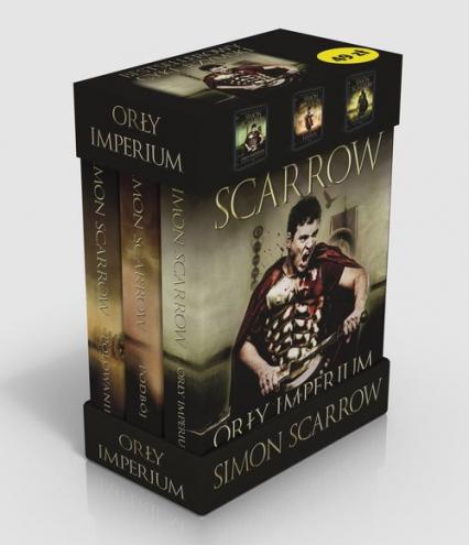 Orły Imperium Tom 1-3 Pakiet - Simon Scarrow | okładka