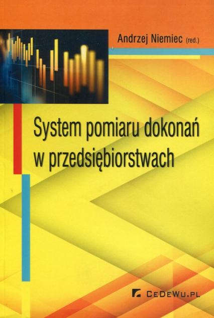 System pomiaru dokonań w przedsiębiorstwach -  | okładka